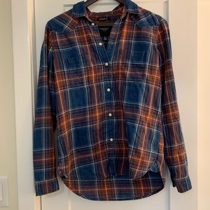 American Eagle Boyfriend Fit Button Down